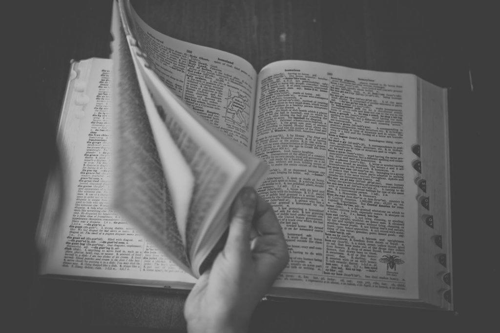 A dictionary will help you navigate unfamiliar terms.